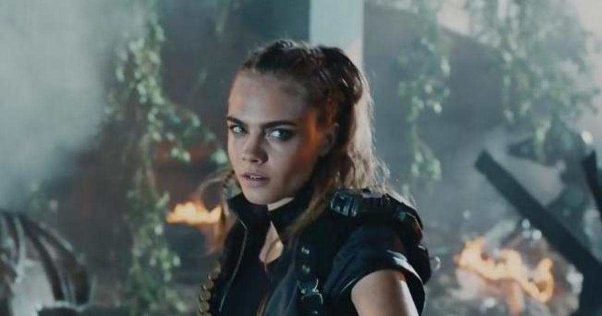 Кара Делевинь снялась в эпическом ролике Call of Duty.