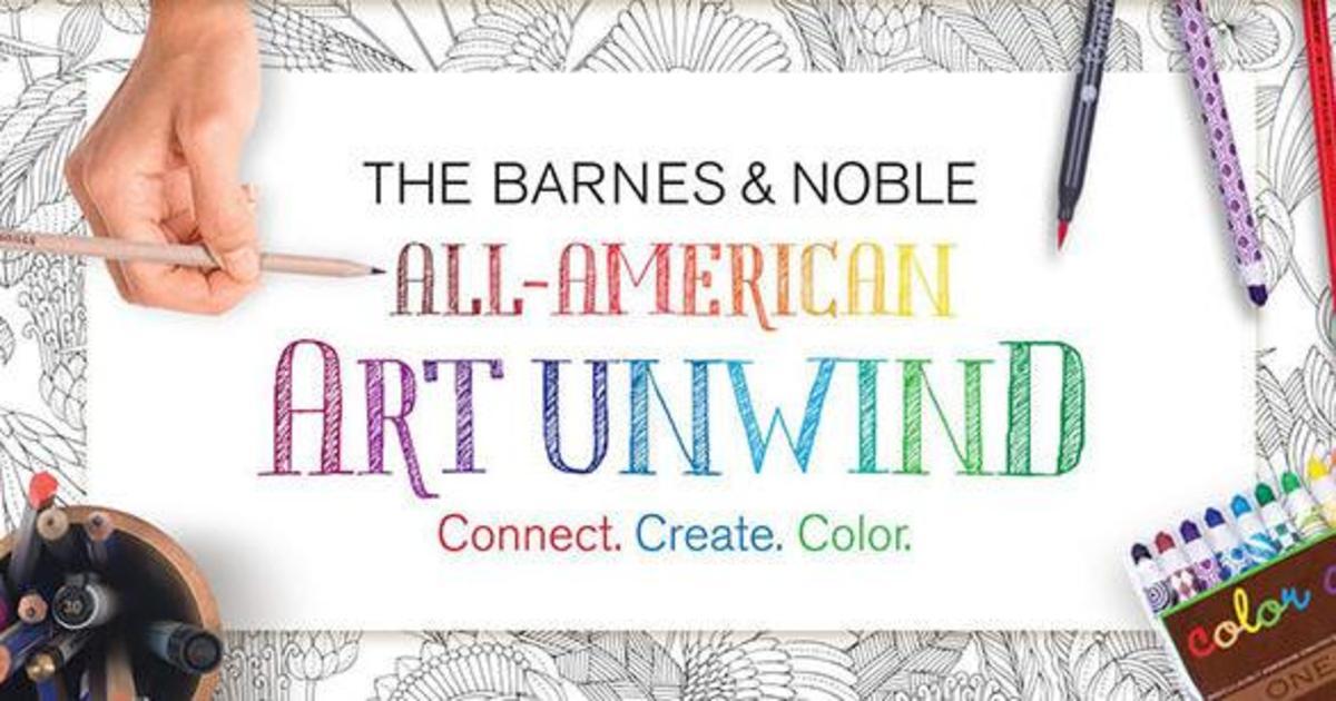 Barnes & Noble ответил Amazon Books раскрасками.
