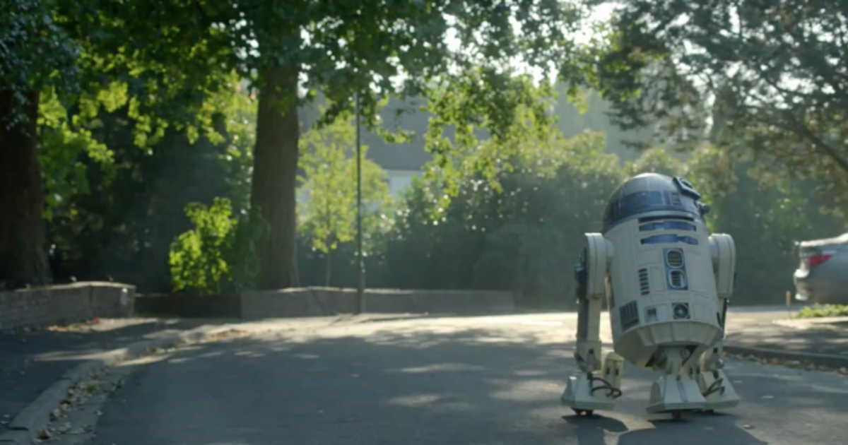 Hewlett-Packard заново изобрел дроид R2-D2 в ролике на тему Звездных Войн.