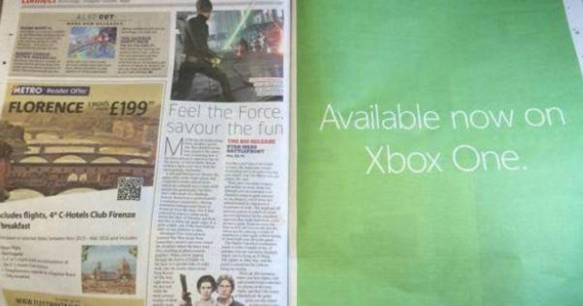 Рекламные войны: Microsoft разместил скрытую рекламу Star Wars Battlefront.