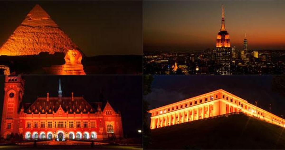 ООН поддержала женщин «оранжевой» кампанией.