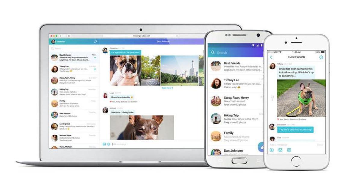 Yahoo Messenger вернулся в качестве приложения.