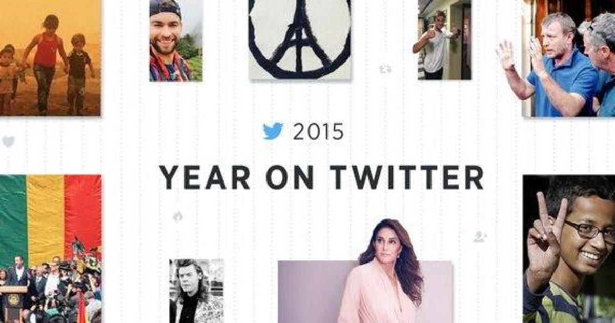 Twitter назвал популярные твиты, эмодзи и тренды 2015 года.