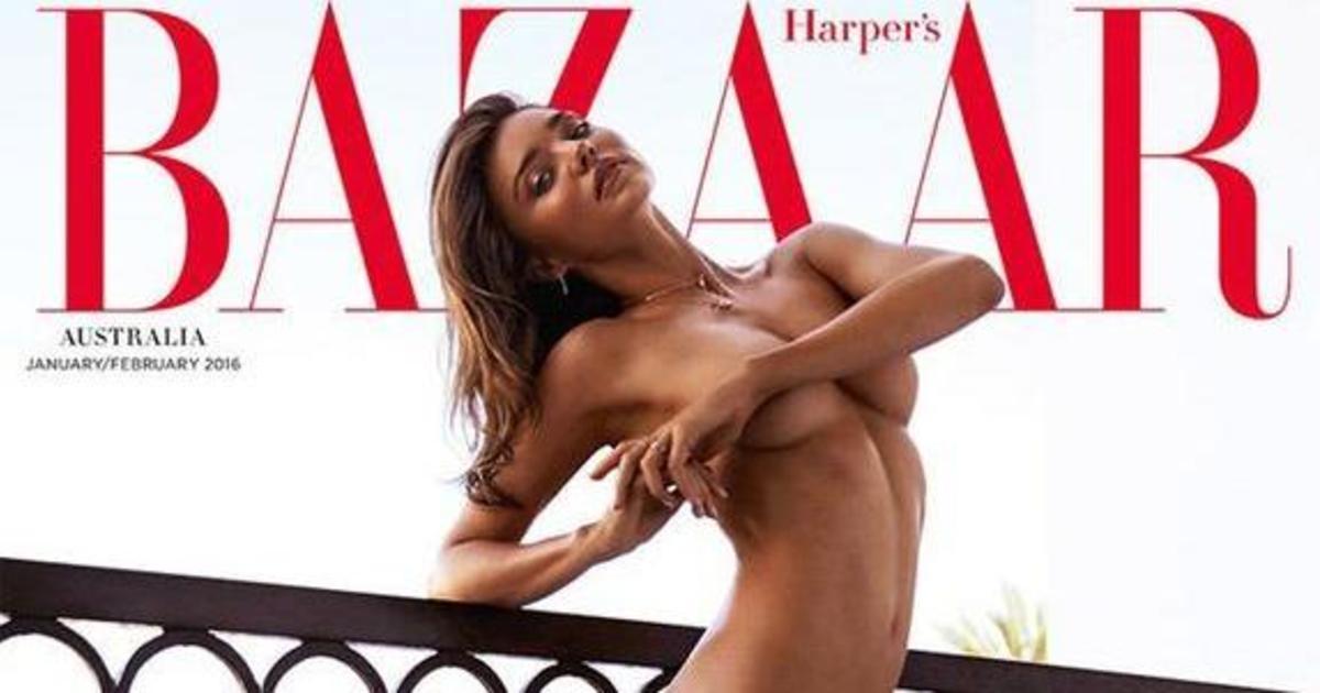 Harper's Bazaar с обнаженной Мирандой Керр убрали с полок магазина.