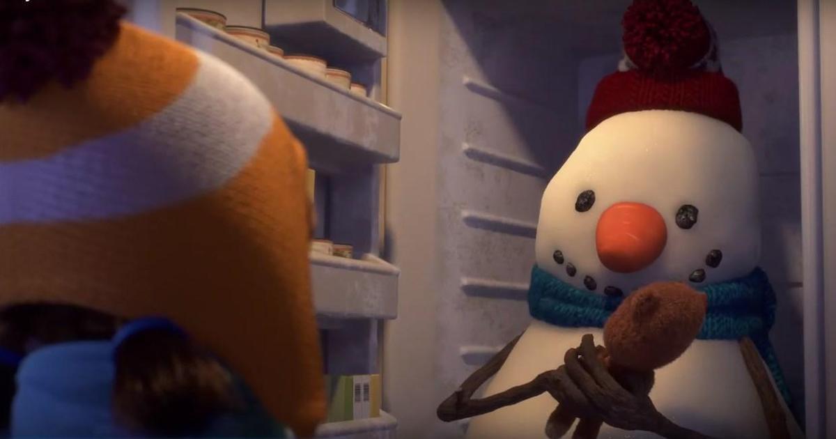 Zulu Alpha создало рождественскую анимацию о девочке и ее друге снеговике.