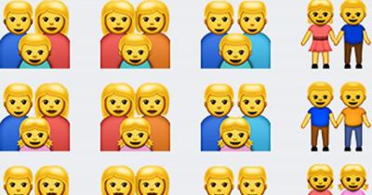 Мосгорсуд отказался запретить эмодзи с изображением однополых семей.