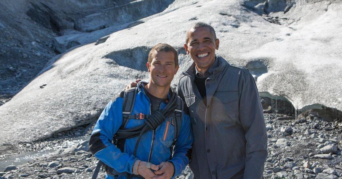 Барак Обама прошел курс выживания на Аляске ради сохранения планеты.