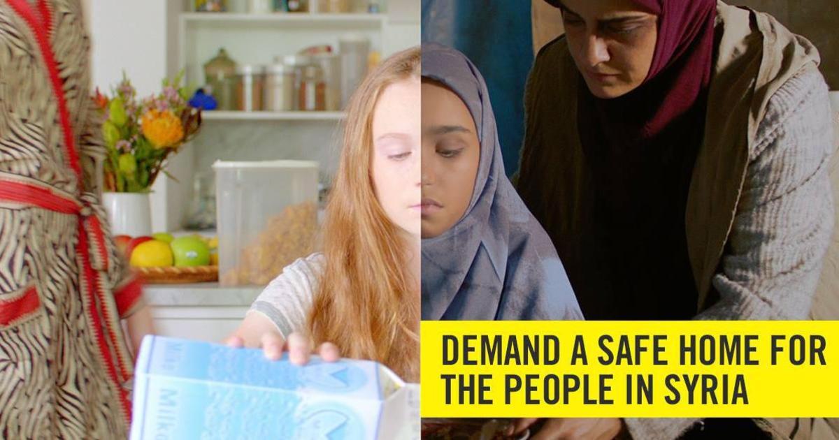 Amnesty Australia напомнила о бедствиях в Сирии.