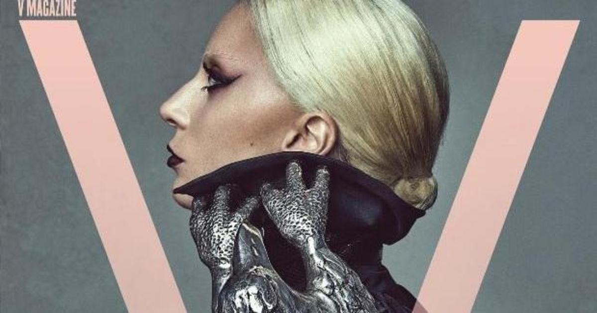 Леди Гага украсила обложку V Magazine.