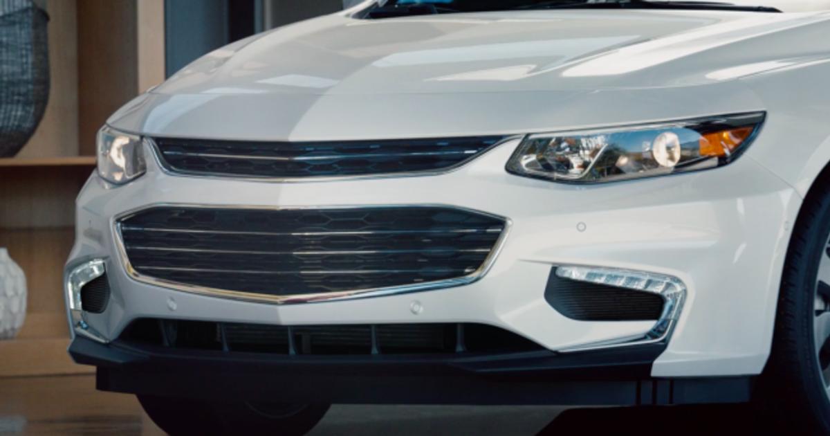 Chevrolet убрал лого с модели, чтобы узнать реакцию пользователей.