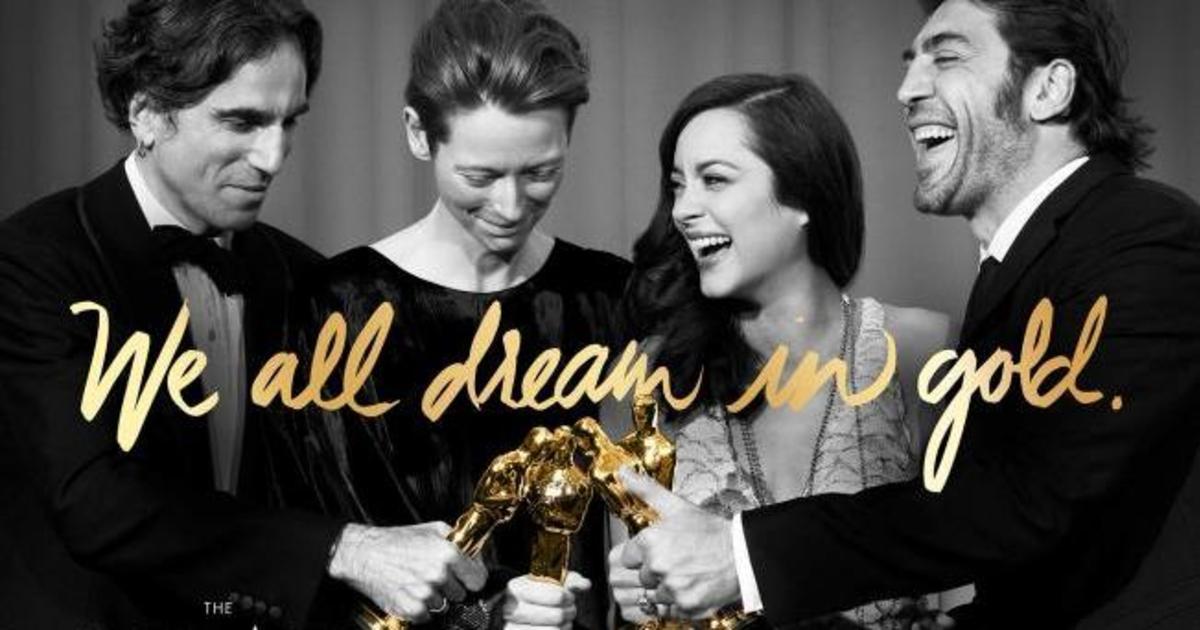 Американская киноакадемия запустила кампанию в честь «Оскара» 2016.