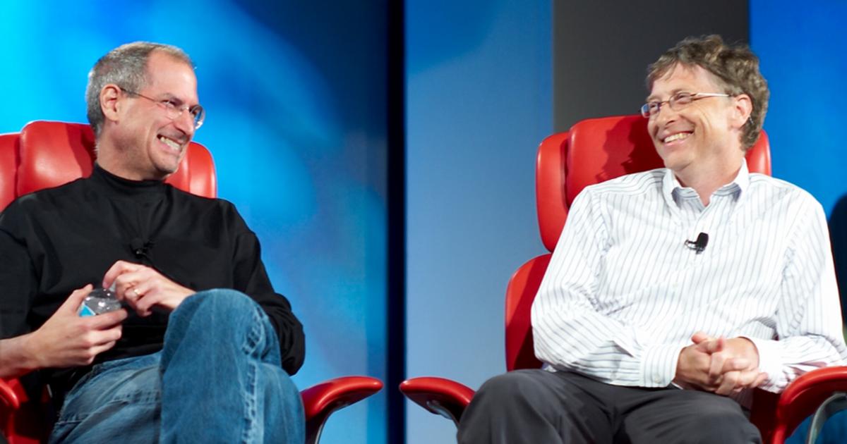 Голограммы Стива Джобса и Била Гейтса сразятся в бродвейском мюзикле.