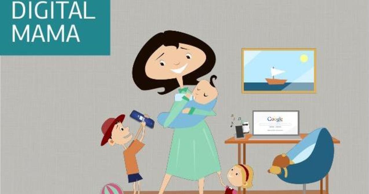 В Украине исследовали поведение digital-мам в интернете.
