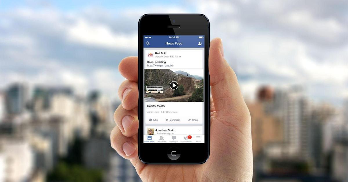 Исследование: Facebook обошел YouTube по охвату видео.