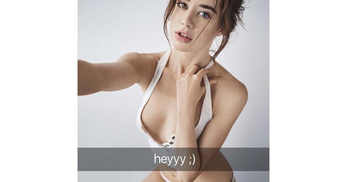 Обложка для первого неэротического номера Playboy стала одой Snapchat.