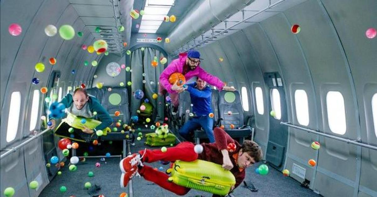 OK Go сняли клип в невесомости вместе с российской авиакомпанией.
