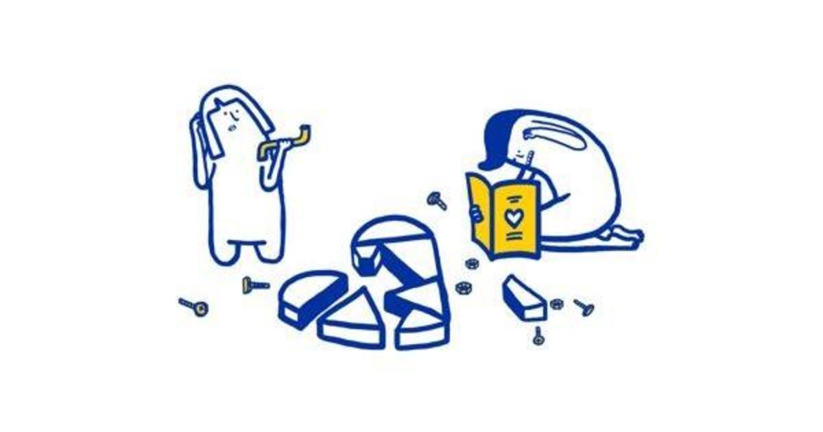IKEA создала инструкцию для счастливых отношений.