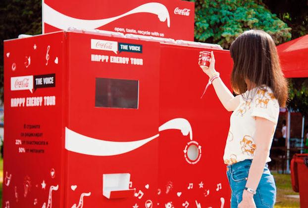 Coca-Cola призвала сортировать мусор с помощью билбордов 3