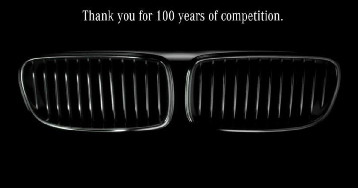 Mercedes протроллил BMW в честь его 100-летия, пригласив в свой музей.