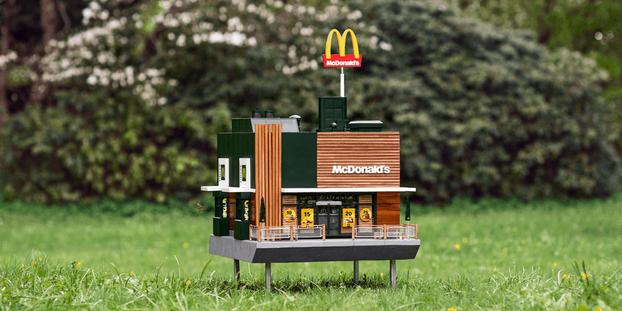 Швеции открылся McDonald's для пчел