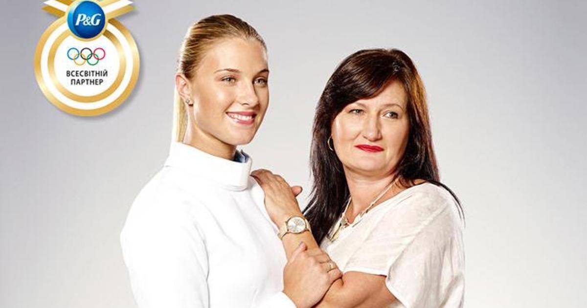 Украинская фехтовальщица и ее мама стали послами Олимпийской кампании P&G.