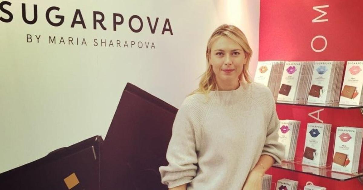 Продажи шоколадных конфет под брендом Шараповой начнутся в мае.