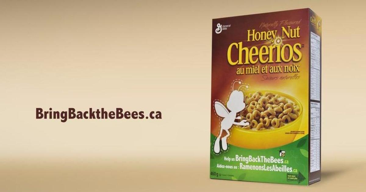 Производитель сухих завтраков запустил кампанию по спасению популяции пчел.