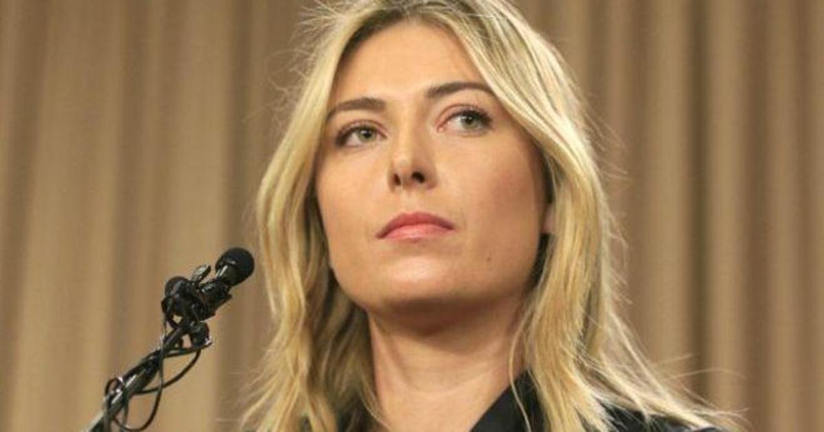 ООН приостановила сотрудничество с Марией Шараповой.