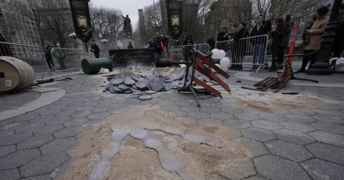 Драконы из «Игры престолов» приземлились в Нью-Йорке.