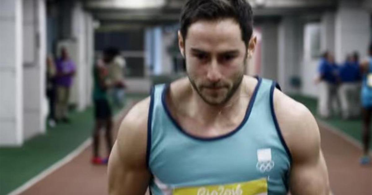 Олимпийская кампания Visa обнажила сердце спортсмена.