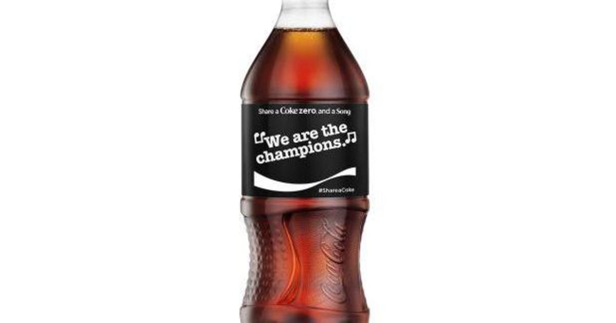 Coca-Cola учит петь, разместив строчки песен на упаковке.