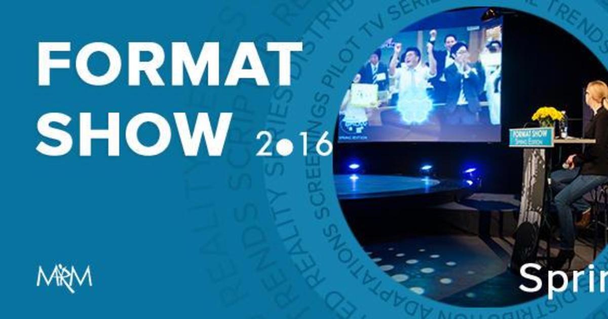 FORMAT SHOW Spring Edition представили программу конференции.
