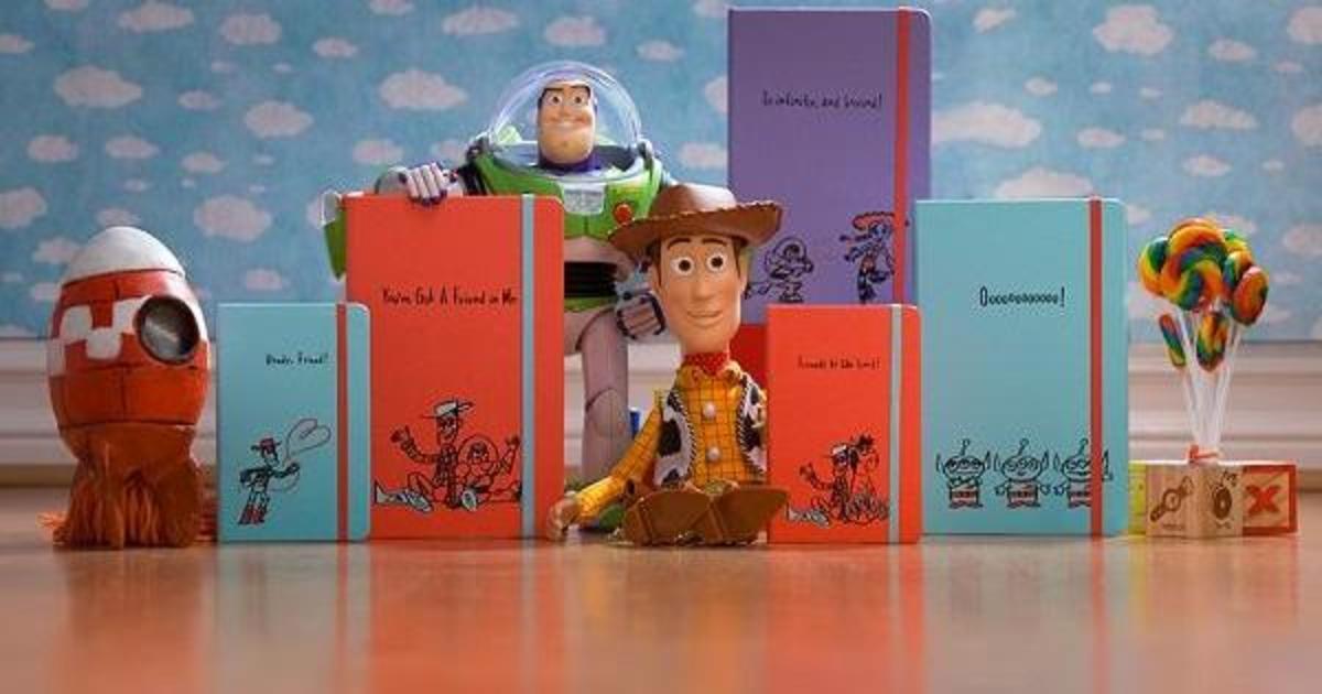 Moleskine выпустил коллекцию блокнотов с персонажами из «Истории игрушек».