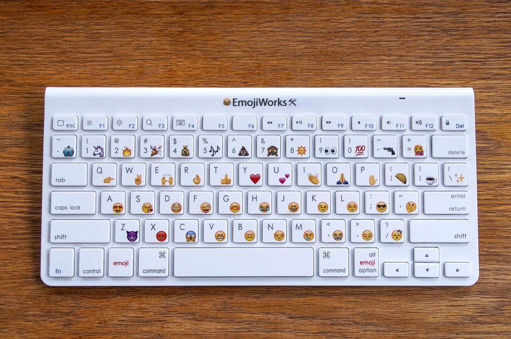 Как на компьютере сделать клавиатуру эмодзи