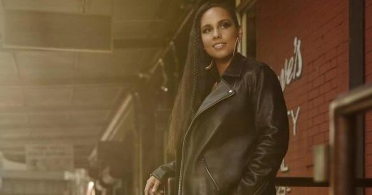 Алиша Киз стала лицом рекламной кампании Levi's.