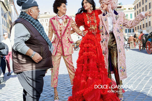 b38edf3c1d57 Dolce   Gabbana снял сыновей Джуда Лоу, Пирса Броснана и Гарри Олдмана.