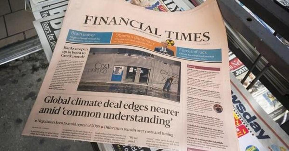 Financial Times оценили в 1 миллиард фунтов.