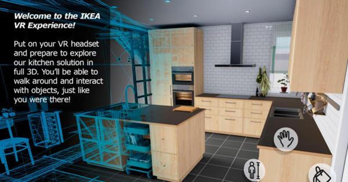 IKEA запустила интерактивную VR активность для продвижения кухонь.