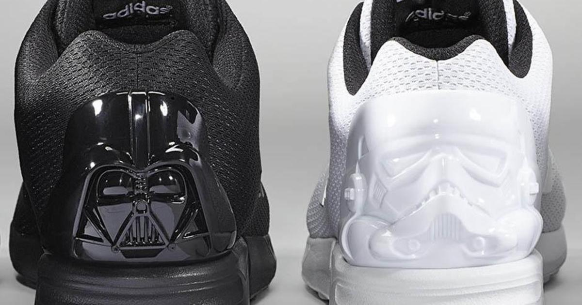 Adidas выпустил кроссовки для фанатов Звездных Войн.