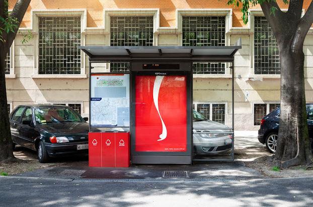 Coca-Cola призвала сортировать мусор с помощью билбордов 2