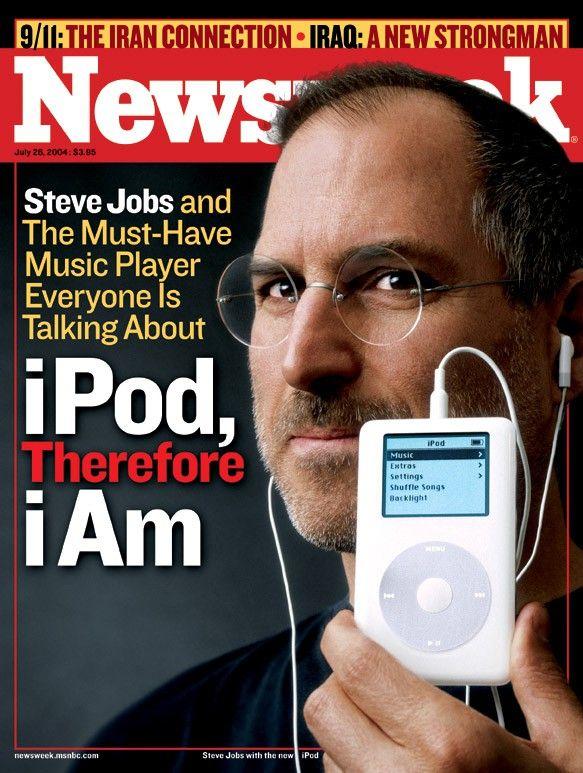 Белые наушники для iPod