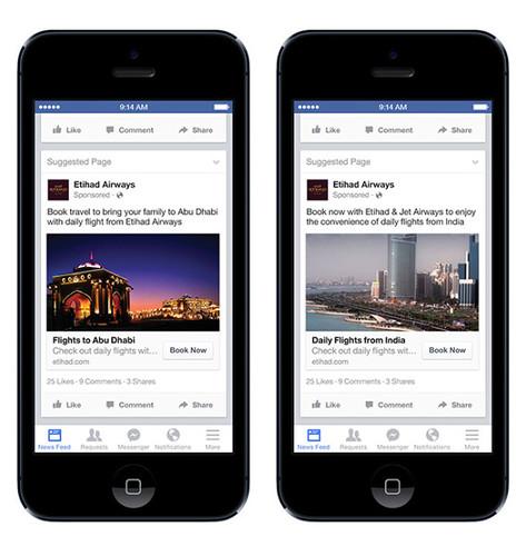 Facebook запустил новую опцию таргетинга.