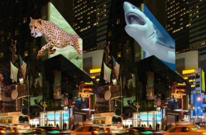 Австрийская компания планирует разместить 3D-дисплеи на главной рекламной площади мира