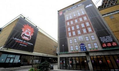 Британское агентство Fold7 реализовало в Лондоне нестандартную рекламную кампанию для продвижения мультфильма Wreck-It Ralph