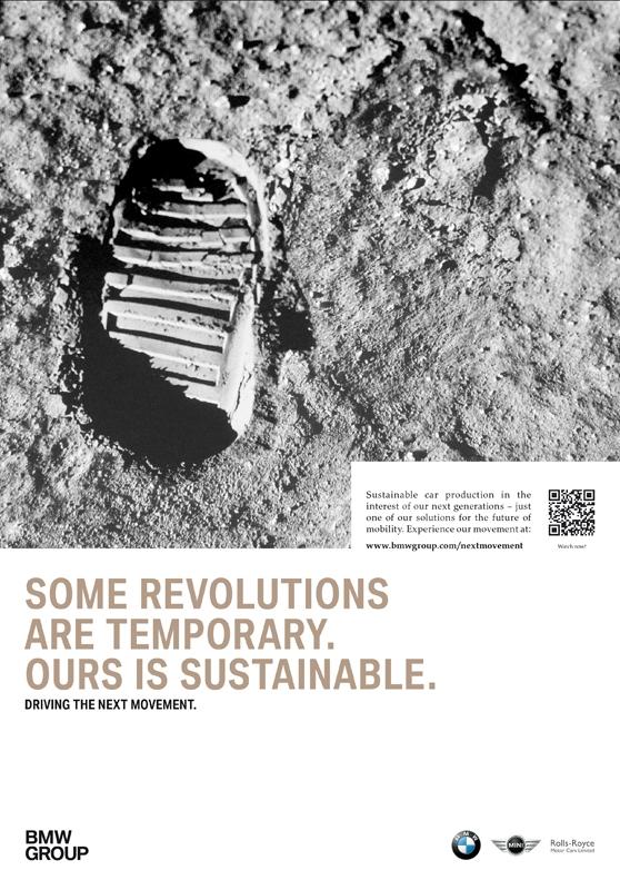 Экологичный автомобиль-гибрид BMW i начинает маркетинговую инициативу, которая подчеркивает пионерский дух бренда