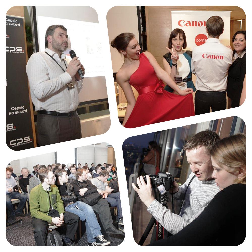 SPN Communications Ukraine организовало первое мероприятие для Canon Украина в рамках сотрудничества в формате пресс-офиса