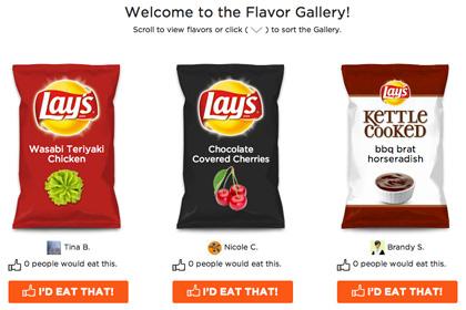 Компания Lay's повторно запустила конкурс, в котором предложила интернет-пользователям придумать новый вкус для чипсов