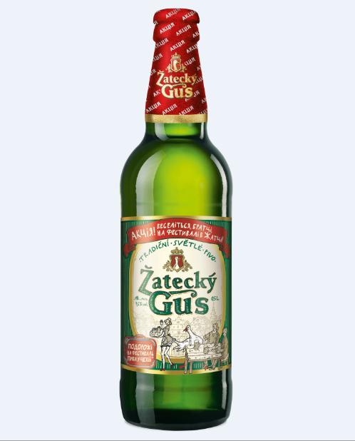 К старту нового пивного сезона пиво ТМ Zatecky Gus меняет дизайн упаковки.