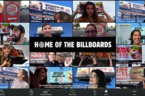 Burger King раздает вопперы в обмен на фоны со своими билбордами в Zoom