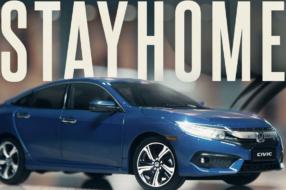 Для Honda Civic 2020 сняли ролик дома